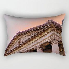 Courthouse Morning Rectangular Pillow