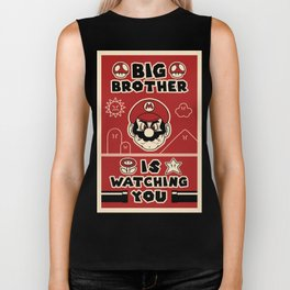 Big Brother is Watching You Biker Tank