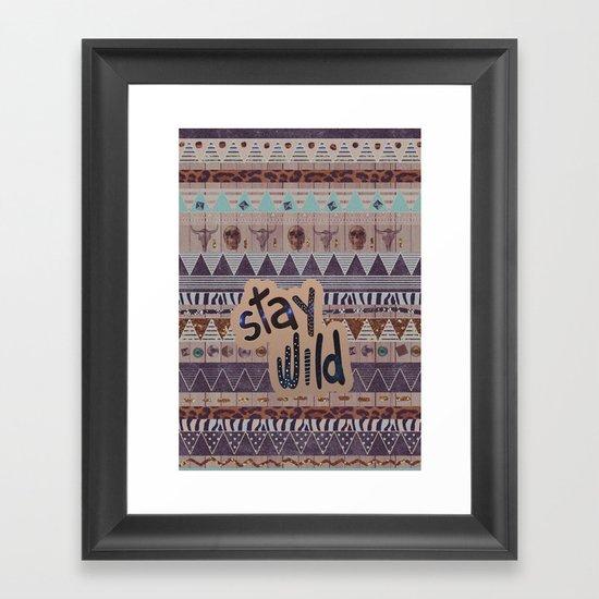 GIPSY SPELL  Framed Art Print