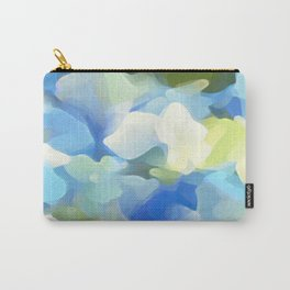 Floral Coral Carry-All Pouch