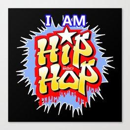 HIP-HOP Canvas Print