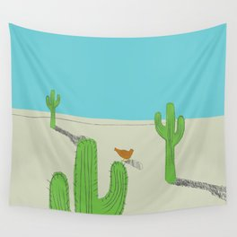No country for Chickens Wall Tapestry