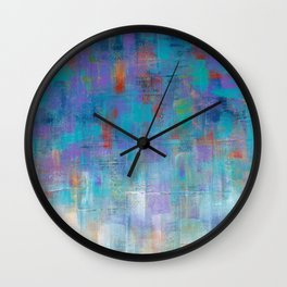 Cool Rain  Wall Clock