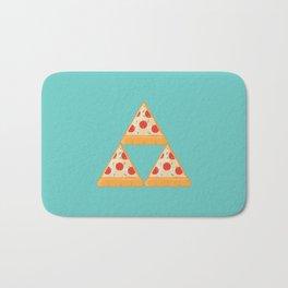 Tri-Pizza Bath Mat