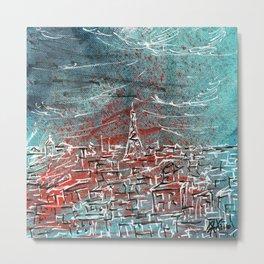 View of Paris Metal Print