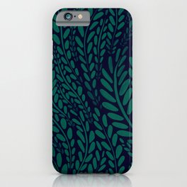 Evergreen art iPhone Case