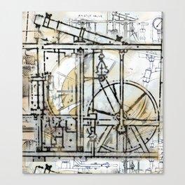 The Steampunk Machine Canvas Print