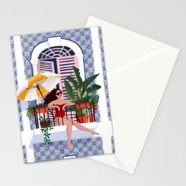 Catching the sun Stationery Cards