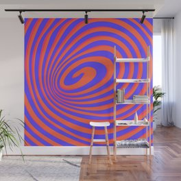 casual spiral 2 Wall Mural
