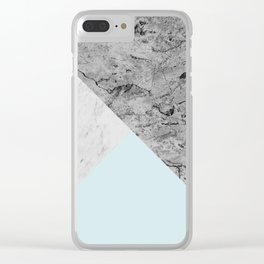 Geometric and modern art XX Clear iPhone Case