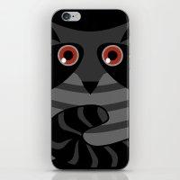 racoon iPhone & iPod Skins featuring racoon - raccoon  by ArigigiPixel