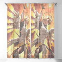mercy watch Sheer Curtain