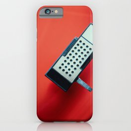 Red Vinyl II iPhone Case