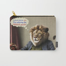 Hungry Lion Carry-All Pouch