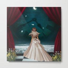 View over the ocean, wonderful fairy Metal Print