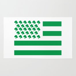 Ecology Flag of America #society6 #decor #buyart #artprint Rug