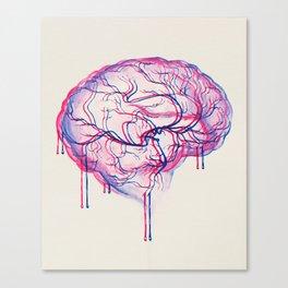 3D Brain Canvas Print
