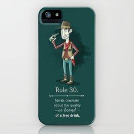 Rule 30 iPhone Case