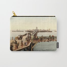 The Jetty at Margate, Kent Carry-All Pouch
