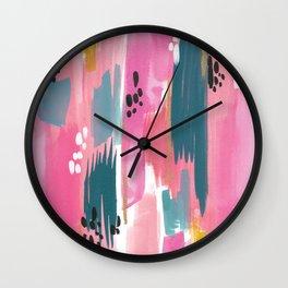 Seaside Abstract Wall Clock