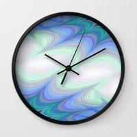 heaven Wall Clocks featuring Heaven by David Zydd