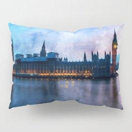 westminster-big-ben-w-england Pillow Sham