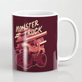 Monster Truck Illustration Coffee Mug