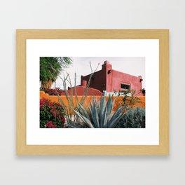 Desert House Framed Art Print