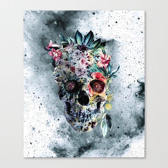 Memento te hominem esse Canvas Print