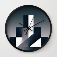 twilight Wall Clocks featuring Twilight by rodric