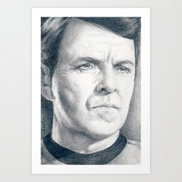Beam Me Up Scotty (Star Trek TOS) Art Print