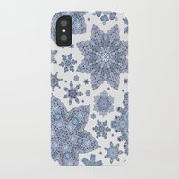 snowflake iPhone & iPod Cases featuring Snowflake by Awispa