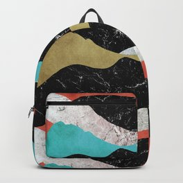 The mountains with colour Backpack