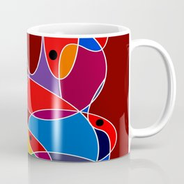 Abstract #77 Coffee Mug