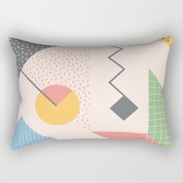 RETROMETRIA CREAM  Rectangular Pillow