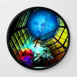 Show me the world Wall Clock