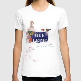 les rues de paris T-shirt