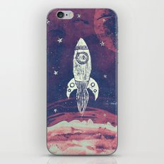 Space Adventure iPhone & iPod Skin