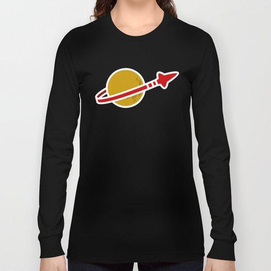 Blue Spaceman Long Sleeve T-shirt