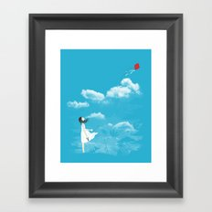Let Go Framed Art Print