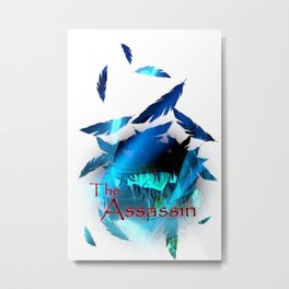 The Assassin Design One Metal Print