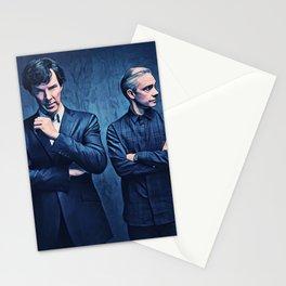 Sherlock and John Stationery Cards