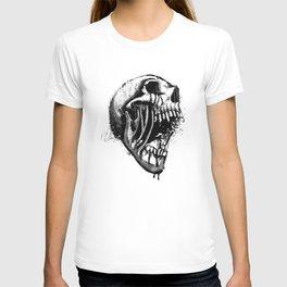 Melting Primal Scream - Skull T-shirt
