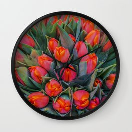 TULIPANESS Wall Clock