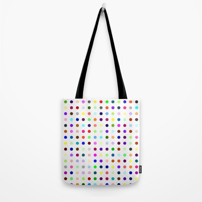 Big Hirst Polka Dot Tote Bag