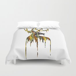 Painted Stag Duvet Cover