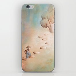 Climbing a Tree iPhone Skin