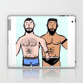Beard Boy: Roger & Karim Laptop & iPad Skin