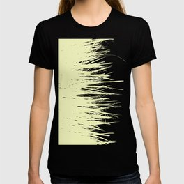 Concrete Fringe Yellow T-shirt