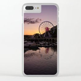 Torquay Harbour Sunset Clear iPhone Case